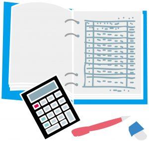 会計簿記のイラスト