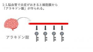 アラキドン酸が作られる図